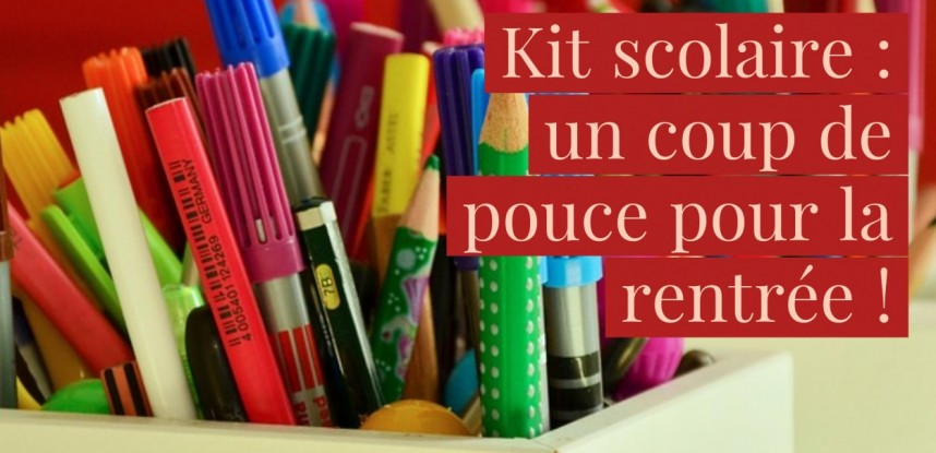 Kits scolaires 2019