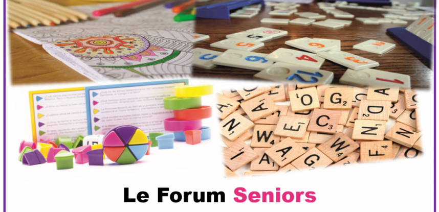 Des animations à distance au Forum Seniors …