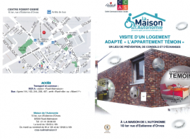 Permanences/ Appartement témoin à la Maison de l'Autonomie