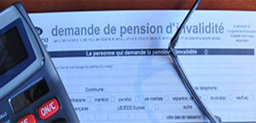 Pension d'Invalidité