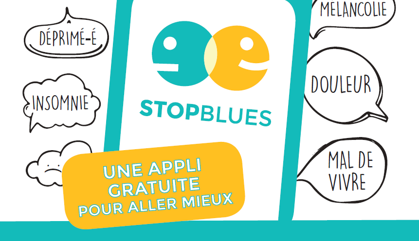 Nouvelle application STOPBLUES